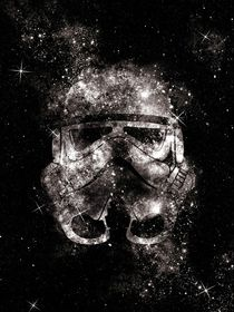 Galaxy stormtrooper digital art print by Goldenplanet Prints