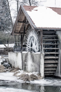 Ice age - Iced mills by Chris Berger