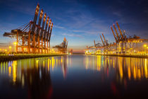 Containerterminal Hamburg von Britta Hilpert