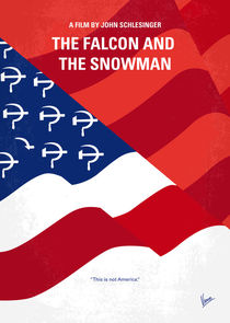 No749 My The Falcon and the Snowman minimal movie poster von chungkong