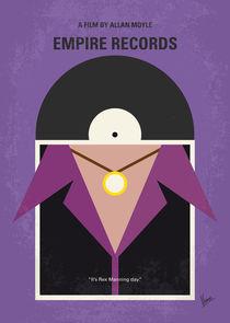 No750 My Empire Records minimal movie poster by chungkong