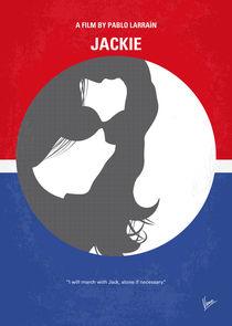 No755 My Jackie minimal movie poster von chungkong