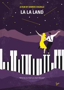 No756 My La La Land minimal movie poster von chungkong