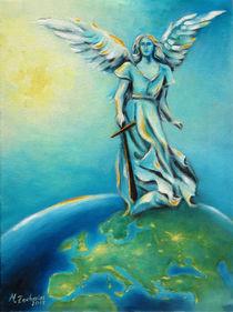 Engel Weltfrieden - Erzengel Michael von Marita Zacharias