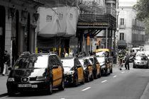 Barcelona Taxis von stephiii
