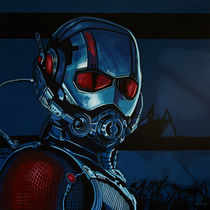 Ant-Man Painting by Paul Meijering