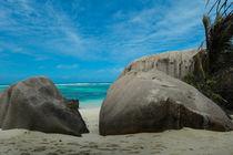 Stones at Anse Source d'Argent - Seychelles island von stephiii
