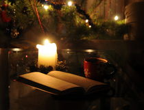 winter evening by Natalia Akimova