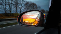 Rear-view mirror by stephiii