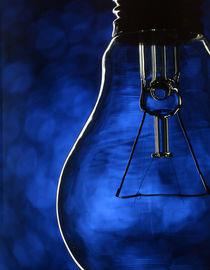 Bulb on blue by maxal-tamor