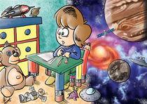 Der Traum von der Raumfahrt von Miguel Fernando Egaña Silva