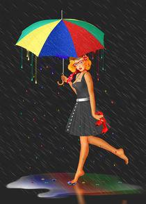 Mein Leben ist bunt - My life is colorful von Monika Juengling
