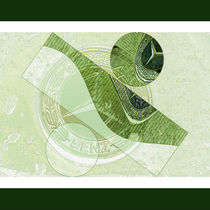 Mercedes Emblem abstrakt by Chris Berger