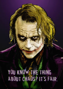 The Joker Says by Dan Avenell