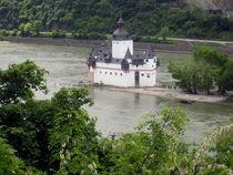 Pfalz bei Kaub von Karlheinz Milde