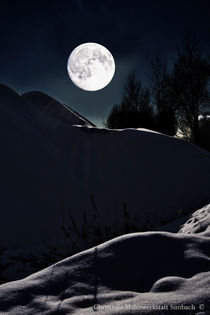 From current event - Snow Moon 2017 by Chris Berger