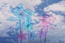 Mühlen im Wind... von Gisela Peter
