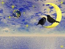 Vögelmond 2 von Norbert Hergl