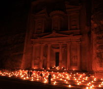 Petra by night by JOMA GARCIA I GISBERT