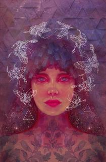 Queen Nefertiti by Damir Martic