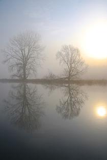 Nebel an der Ruhr von Bernhard Kaiser