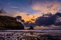 Talisker Bay, Winter's Afternoon by Bruce Parker