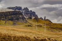 Old Man of Storr, Snow Dusting by Bruce Parker