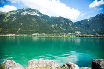 Beautiful lake mountains Achensee of austria von raphaela4you