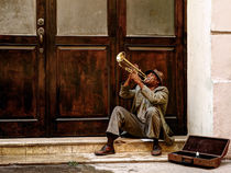 the trumpet player by Jens Schneider