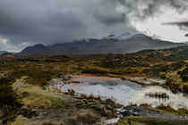Cuillin Hills from Sligachan by Bruce Parker