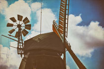 Amrumer Windmühle Vintage by AD DESIGN Photo + PhotoArt