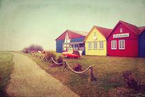Bunte Häuser Vintage - Amrum von AD DESIGN Photo + PhotoArt