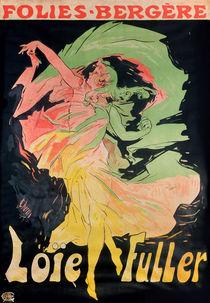 Folies Bergere: Loie Fuller by Jules Cheret