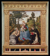 Virgin and Child with St. Jerome and St. Dominic by Filippino Lippi