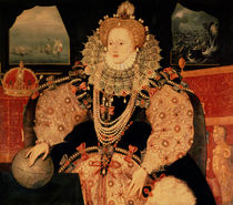 The Armada portrait of Queen Elizabeth I by English School