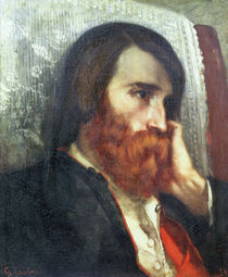 Portrait of Alfred Bruyas von Gustave Courbet