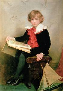 Portrait of Norman Stewart Davies by George Hillyard Swinstead