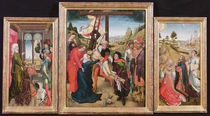 Descent from the Cross, and the Legend of the True Cross by Vranck van der Stock