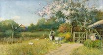 Springtime by Alfred East
