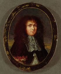 Portrait of Louis XIV by Jean the Elder Petitot