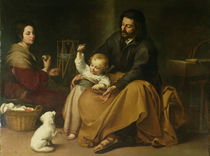The Holy Family with the Little Bird by Bartolome Esteban Murillo