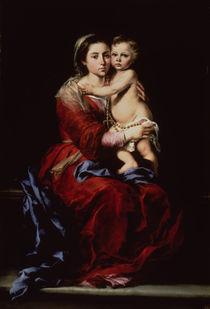 The Virgin of the Rosary, c.1650 by Bartolome Esteban Murillo