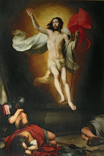 The Resurrection of Christ by Bartolome Esteban Murillo