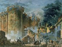 The Taking of the Bastille by Jean-Pierre Houel