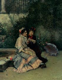 Two Spanish Women by Ricardo de Madrazo y Garreta