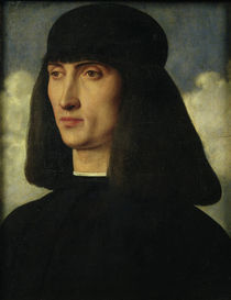 Portrait of a Young Man, c.1500 by Giovanni Bellini