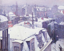 View of Roofs or Roofs under Snow