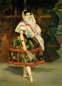 Lola de Valence, 1862 by Edouard Manet