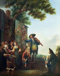 The Violinist by Louis Joseph Watteau