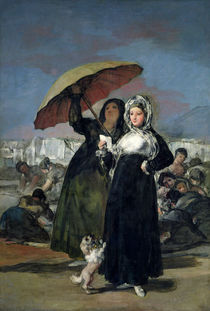 The Letter or, The Young Women von Francisco Jose de Goya y Lucientes